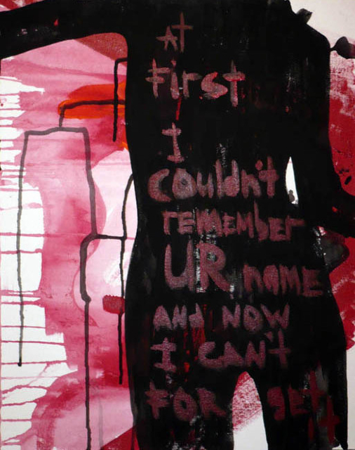 at first i couldn`t remember ur name, and now i can`t forget it...